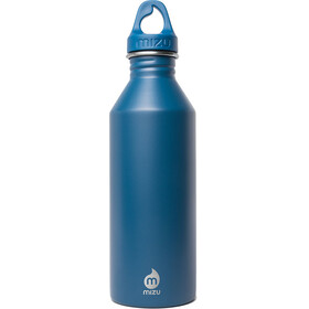 MIZU M8 Bottle with Blue Loop Cap 800ml blue